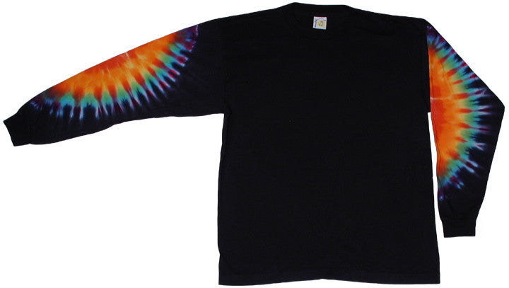 Rainbow Sleeves black long sleeve shirt