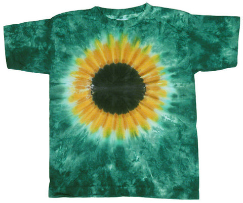 Green Sunflower youth shirt