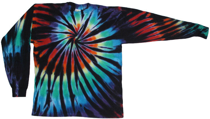 Stained Glass Spiral long sleeve shirt