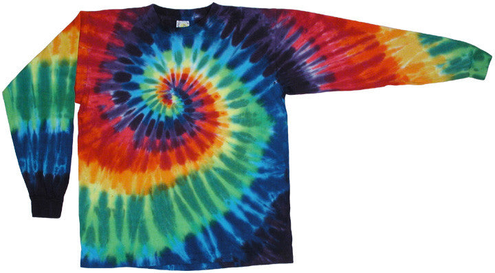 Rainbow Spiral long sleeve shirt