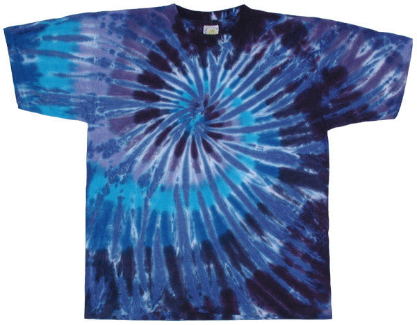 Twilight Spiral tie-dye T-shirt