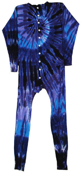 Twilight Glass Spiral union suit