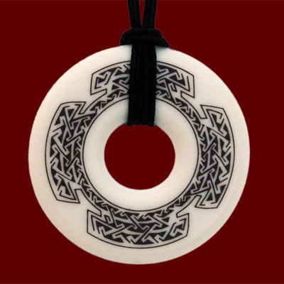 Celtic Cross Annulus Pendant