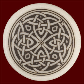 Celtic Knotwork Round Pendant