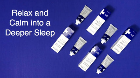relax and calm into a deeper sleep