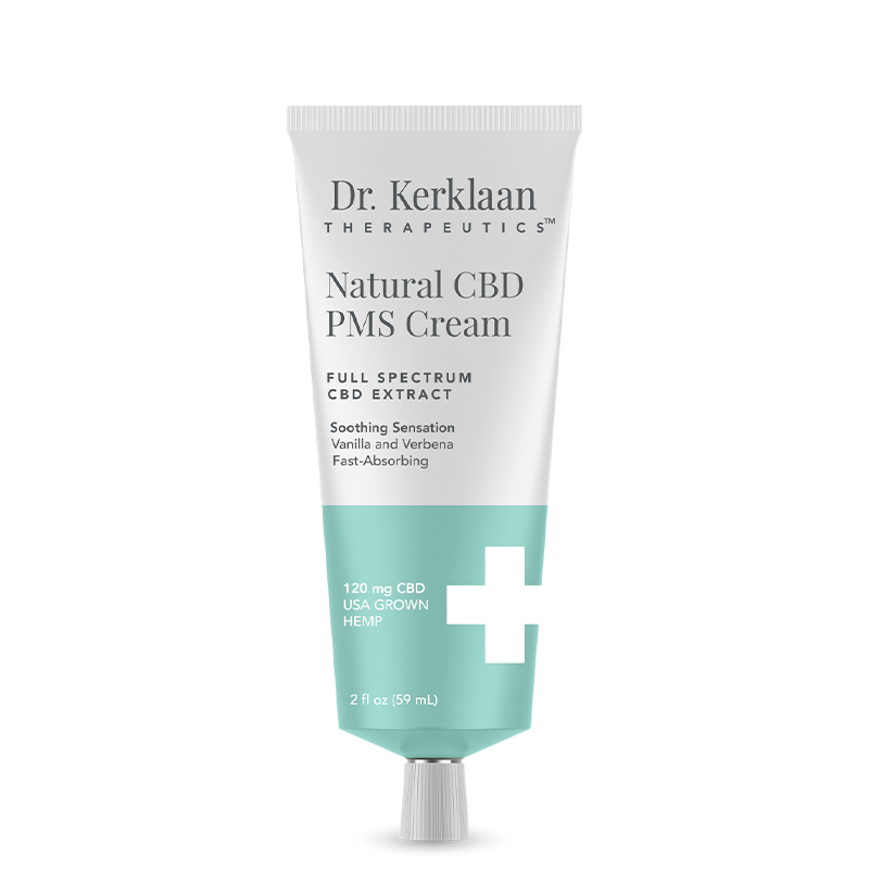 Dr. Kerklaan Therapeutics Natural CBD PMS Cream