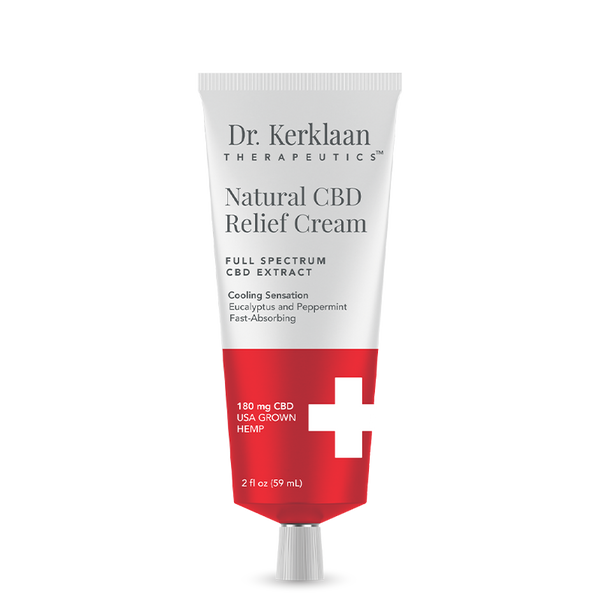 Dr. Kerklaan Therapeutics Natural CBD Relief Cream
