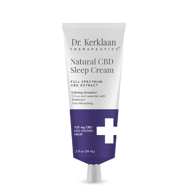 Dr. Kerklaan Therapeutics Natural CBD Sleep Cream