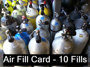 Air Fill Card 10 Fills
