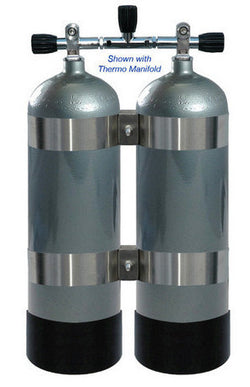 Faber Twin Steel HP 2x100 Tanks - GMG