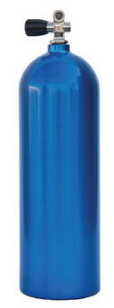 Luxfer Aluminum 63  Blue Tank with K-Valve