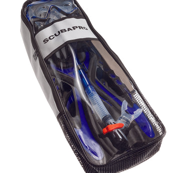 SCUBAPRO Sub VU Combo Pack with Mask, Snorkel and Fins