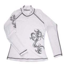 Sub Gear Womens Tribal Rashguard LS
