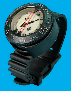 Trident Wrist Mount Oceanic Style Compass