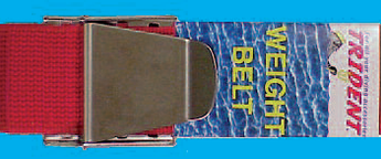 Trident Weight Belt w/SS Belt Buckle