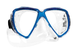 SCUBAPRO Snorkel Pro Damselfish Adult Mask, Blue