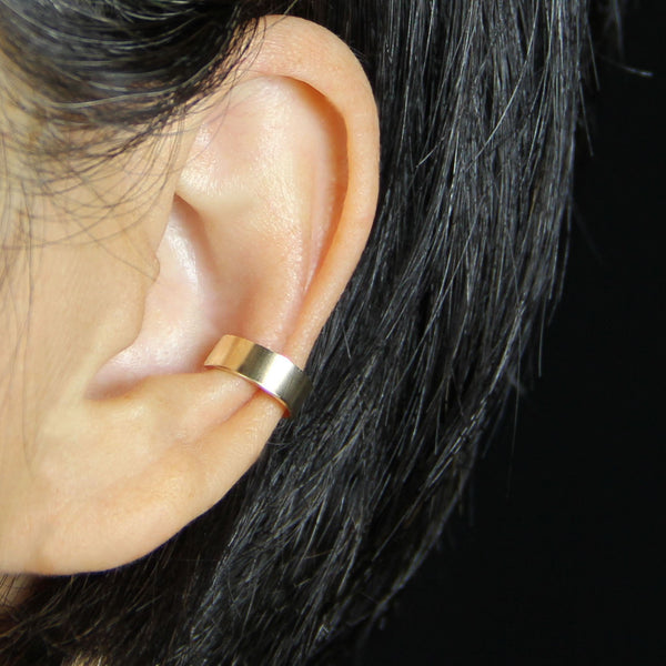 5.99-9.99 dollars Simple 14k gold filled bar ear cuff handmade US free shipping Anni Designs - Anni Designs