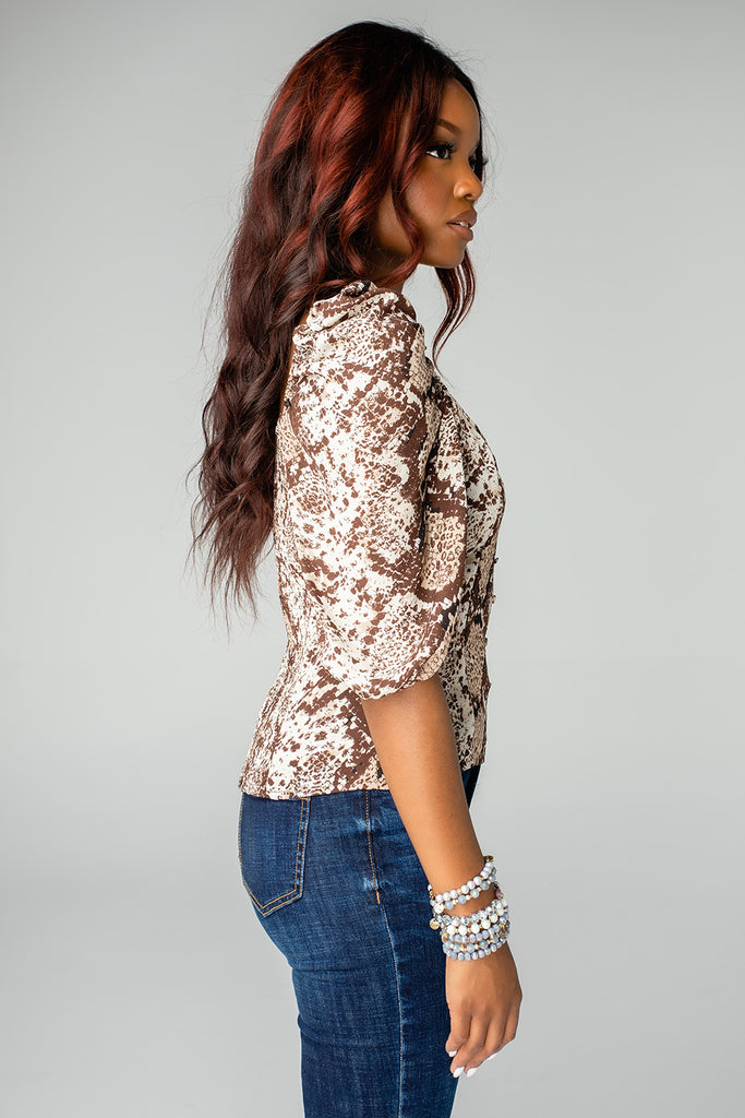 Demi Sweetheart Top - Slither