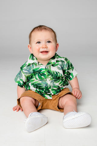 Nash Boy's Button Down Shirt - Maui (Pre-Order)