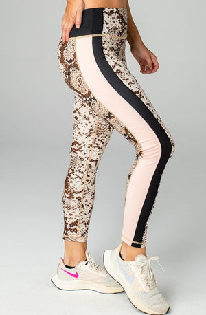 Olivia High-Rise Waist Leggings - Slither