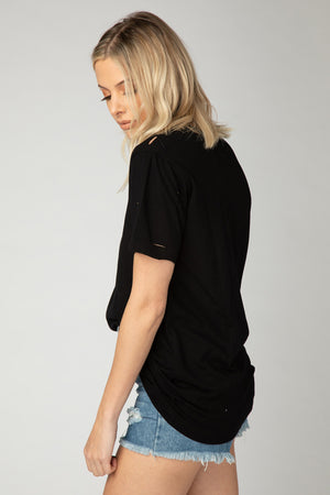 Mayfield Distressed Graphic Tee - Choose Love