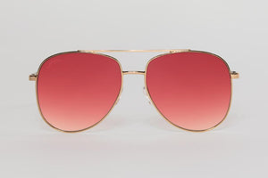 Maverick Aviators Sunglasses - Pink