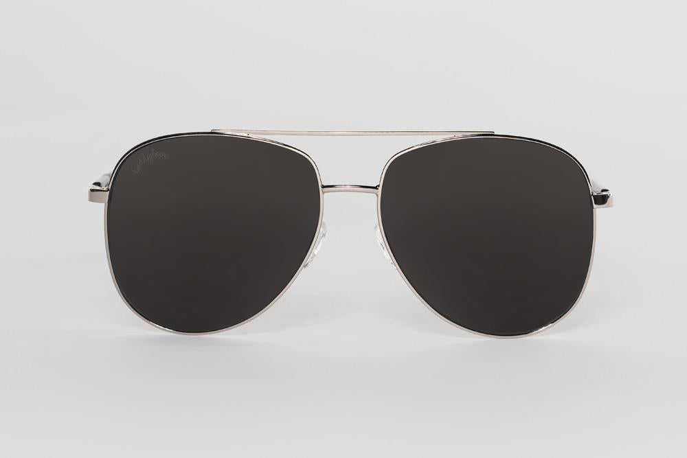 Maverick Aviators Sunglasses - Black