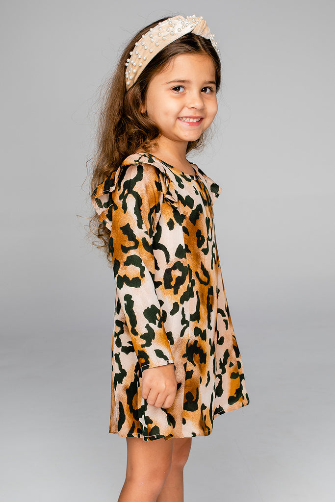 Logan Girl's Dress - Lioness
