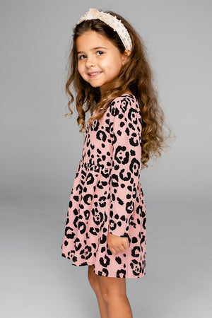 Gracie Girl's Dress - Whiskers