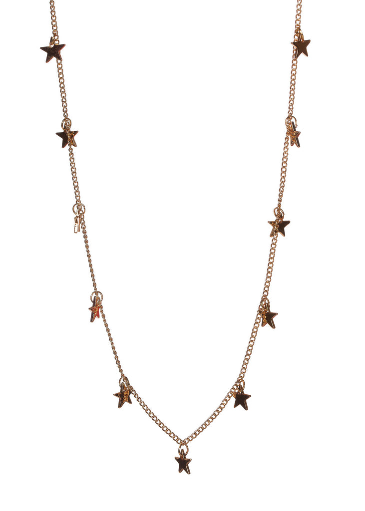 Blitz Star Necklace - Gold