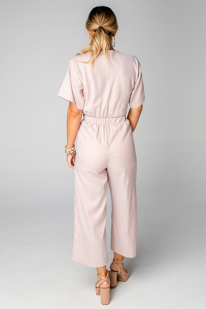 Ilene Jumpsuit- Tan