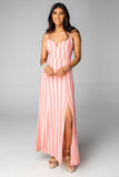 Essex Empire Waist Maxi Dress - Bubblegum
