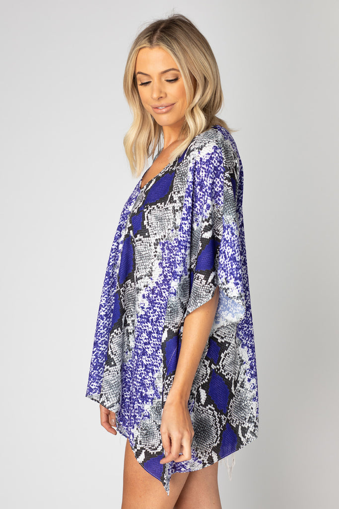North Tunic - Purple Boa