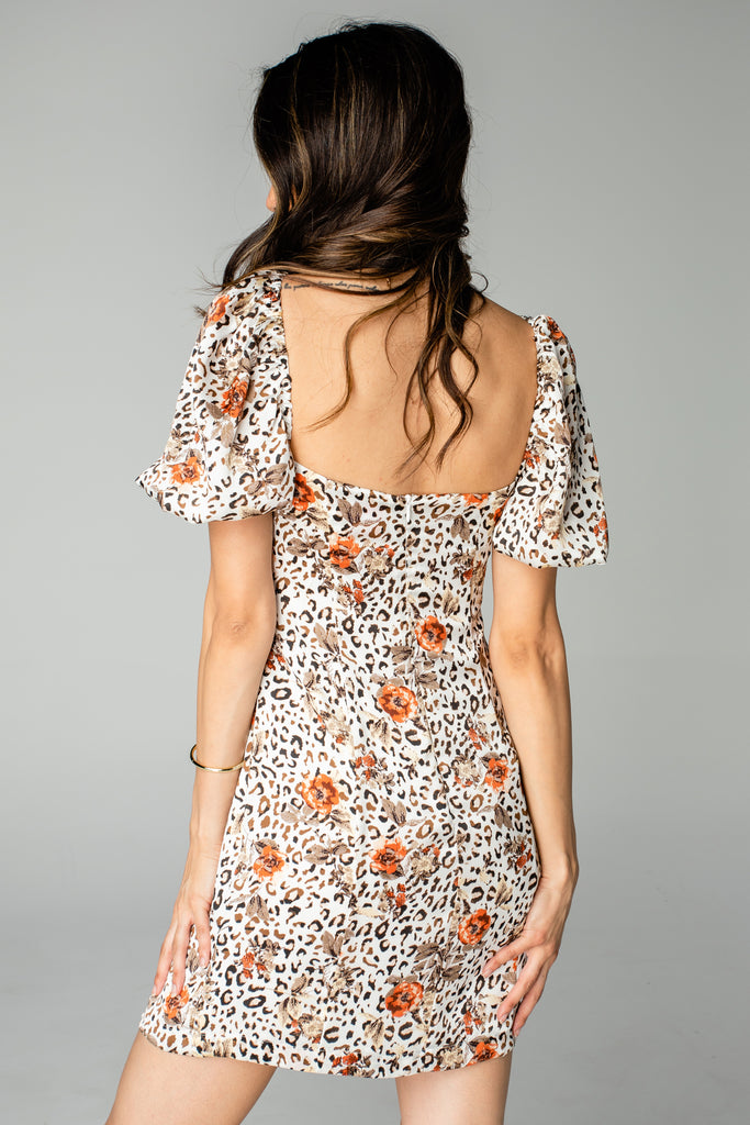 Nora Mini Dress - Safari