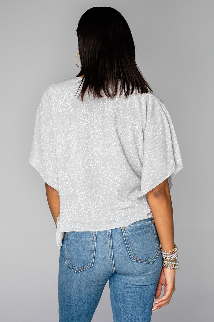 Dave Short Sleeve Swing Top - Rubble