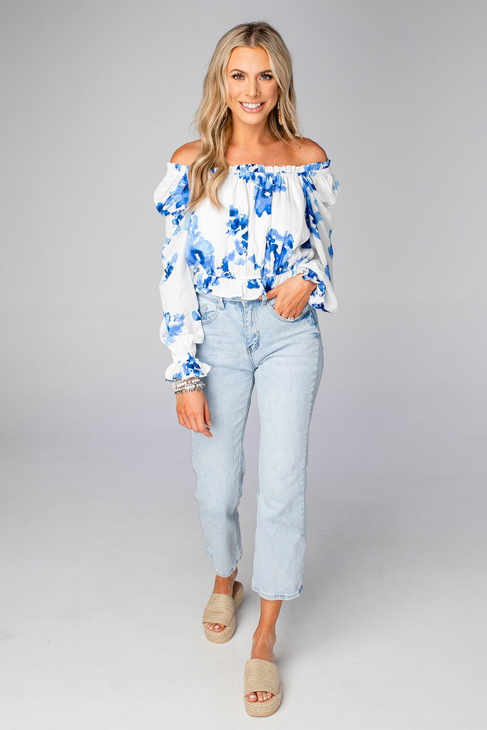 Constance Off The Shoulder Top - Capri