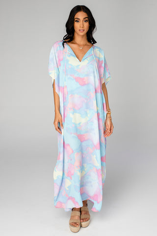 Cora Caftan Maxi Dress - Groovy