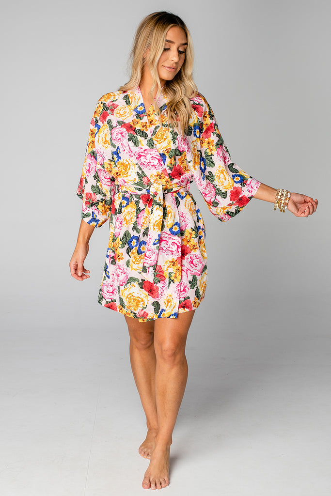 Hadid Short Robe - Monet