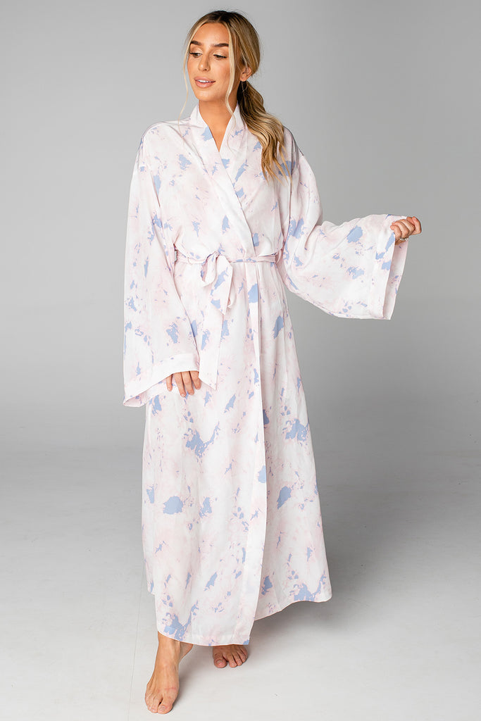 Romee Long Robe - Wisteria