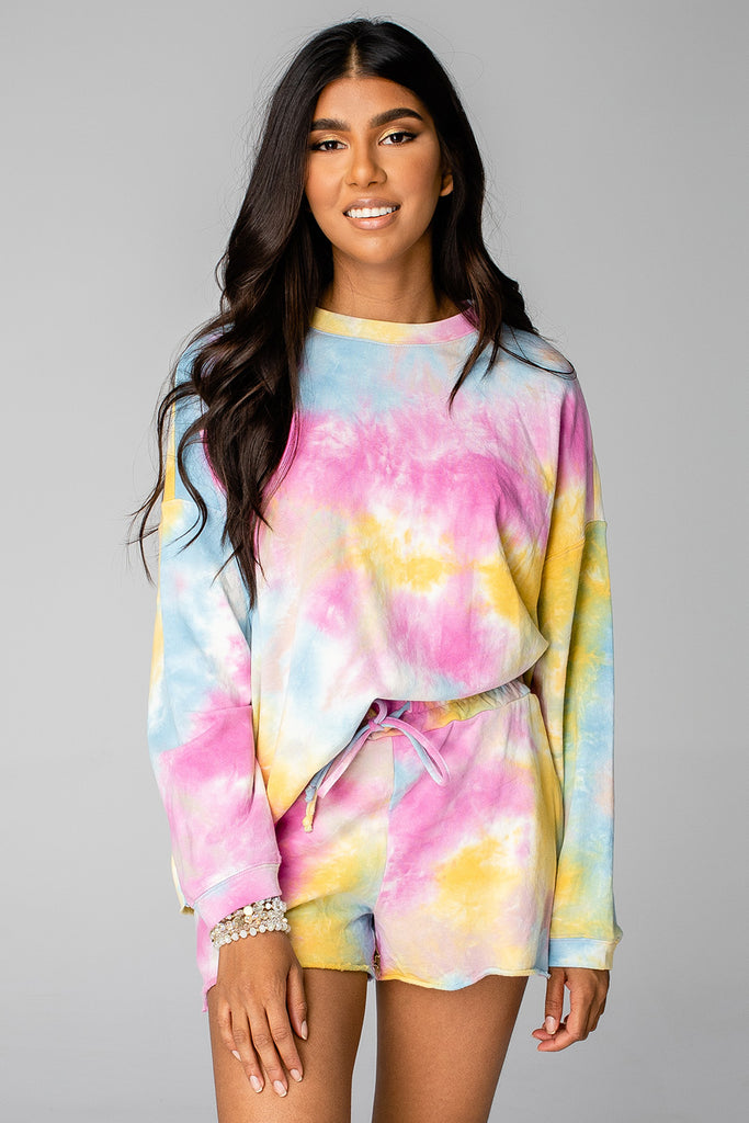 BuddyLove Hailey Loungewear Set - Rainbow