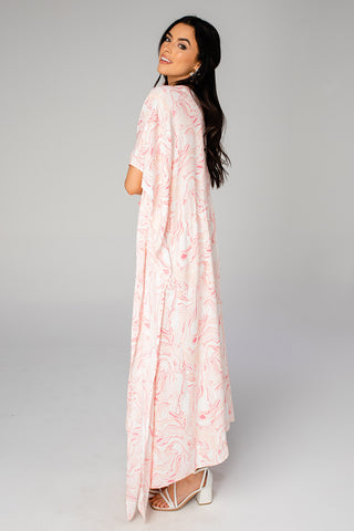BuddyLove Mamie Caftan Maxi Dress - Peaches (Pre-Order)