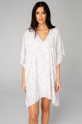 Pina Colada Tunic Dress - Quartz