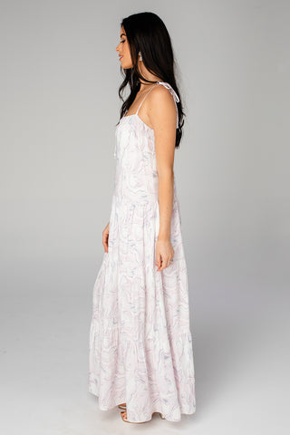 BuddyLove Reese Tie-Shoulder Maxi Dress - Quartz (Pre-Order)