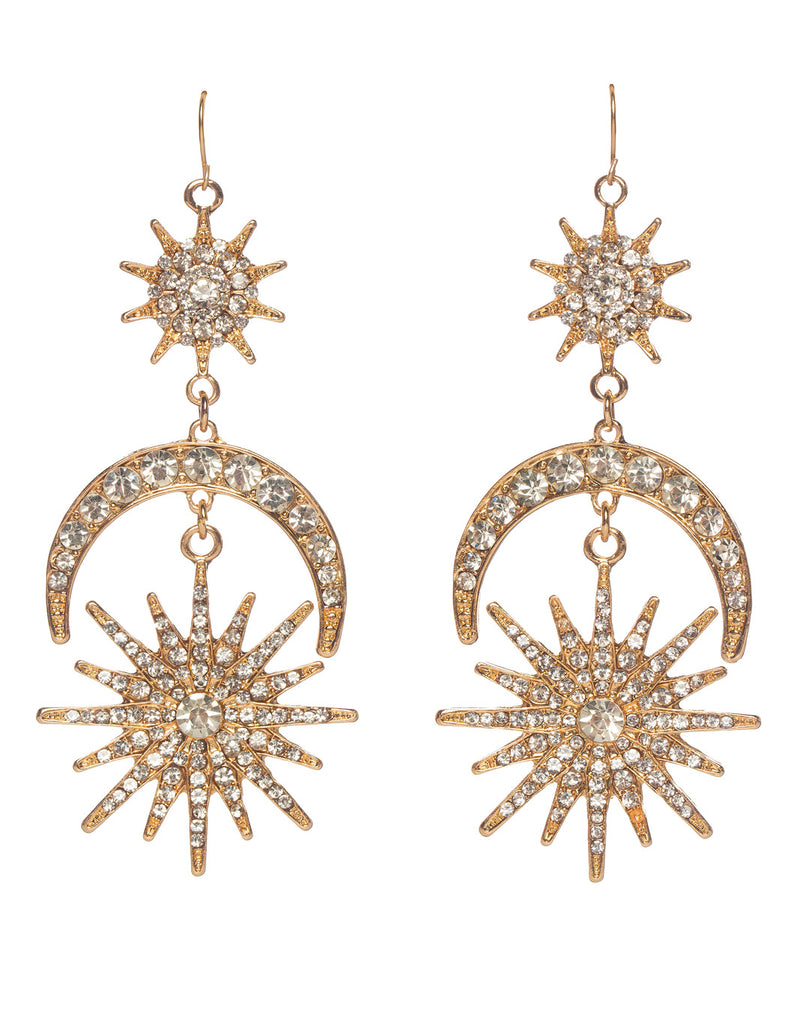 Gatsby Drop Earring - Gold