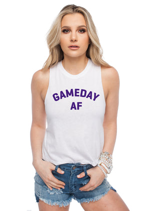 Dave Gameday AF Tank Top - Purple