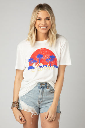 Harrison Graphic Tee - Aloha