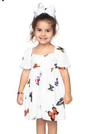 Kennedy Baby Doll Dress - Butterfly