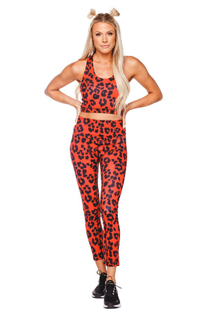 Michaels High-Waisted Legging - Fire