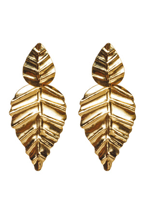 Corazon Earrings - Gold
