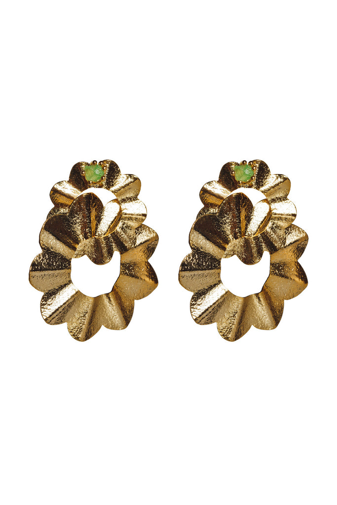 Senorita Earrings - Gold